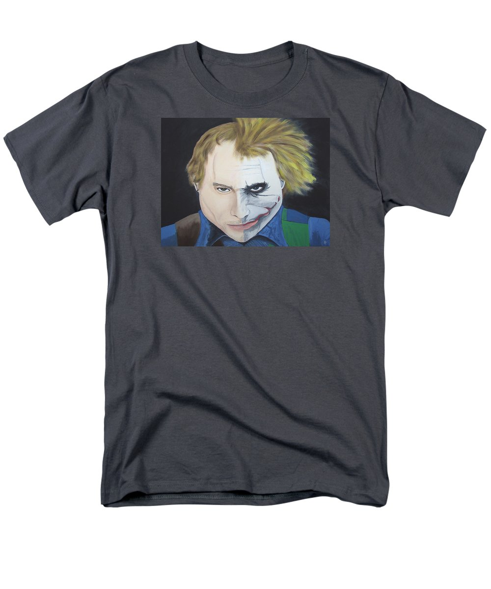 Original Men's T-Shirt (Regular Fit) featuring the painting Tormented Soul by Dean Stephens