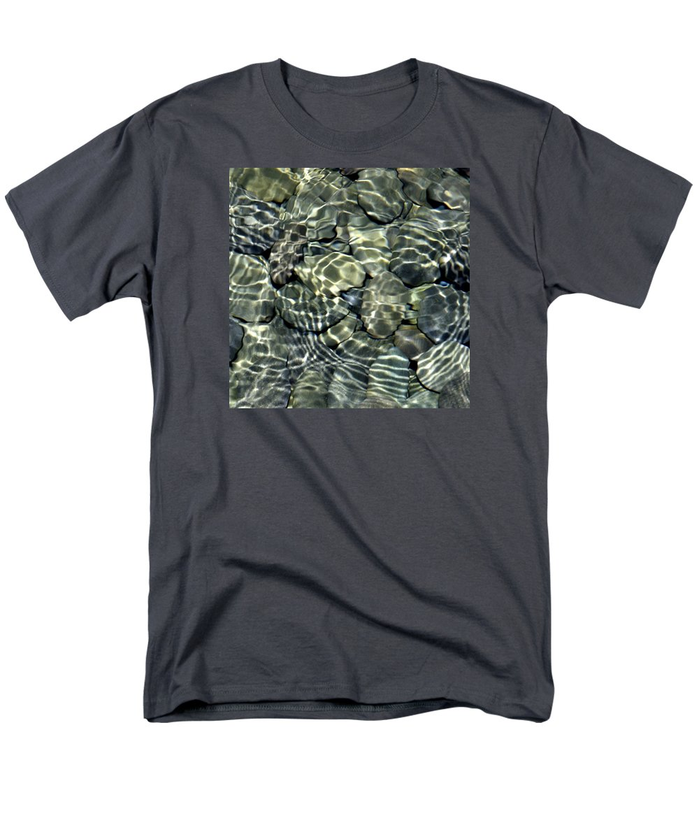 Water Men's T-Shirt (Regular Fit) featuring the photograph Water Rocks 2 by Andre Aleksis