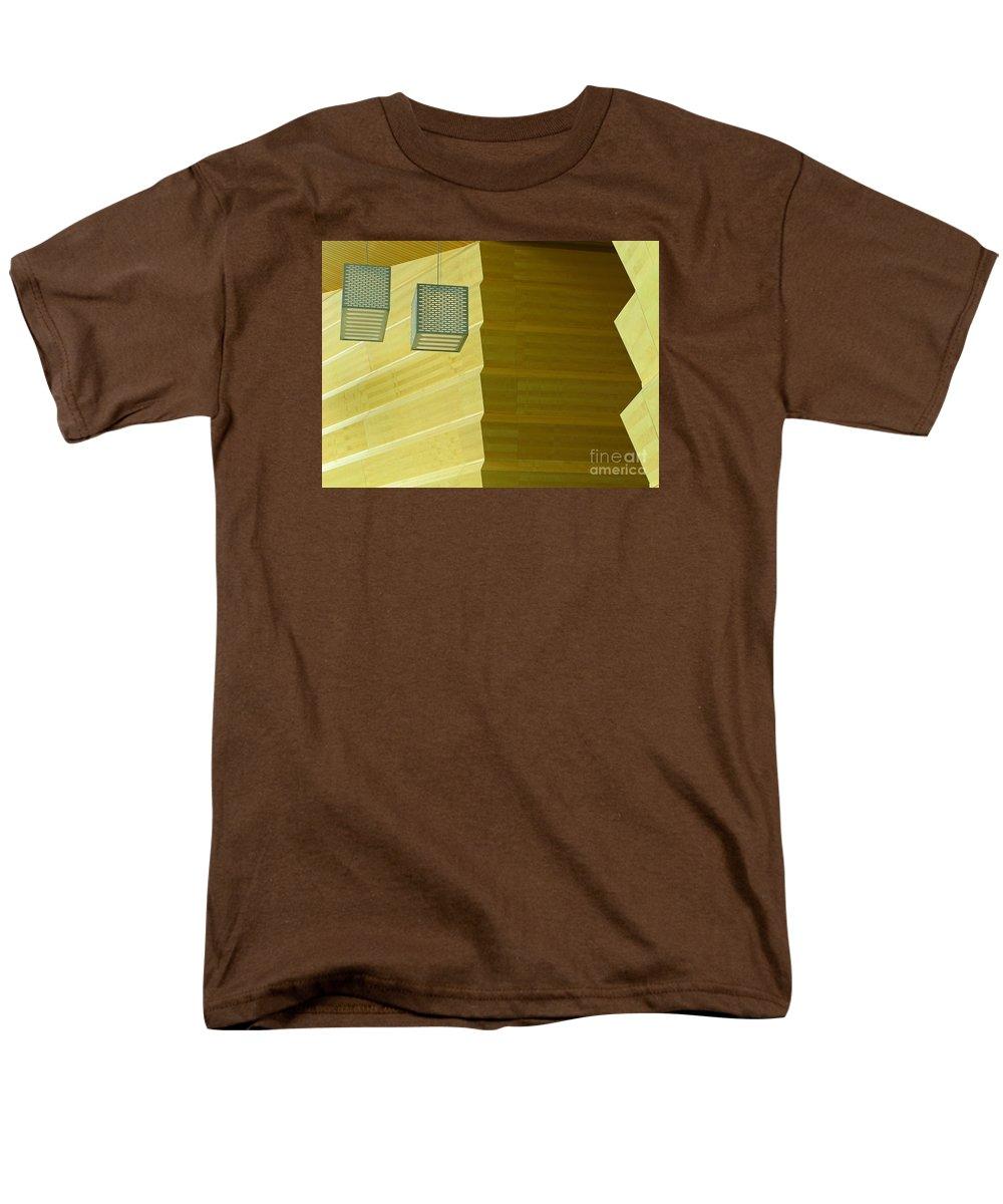 Zig-zag Men's T-Shirt (Regular Fit) featuring the photograph Zig-Zag by Ann Horn
