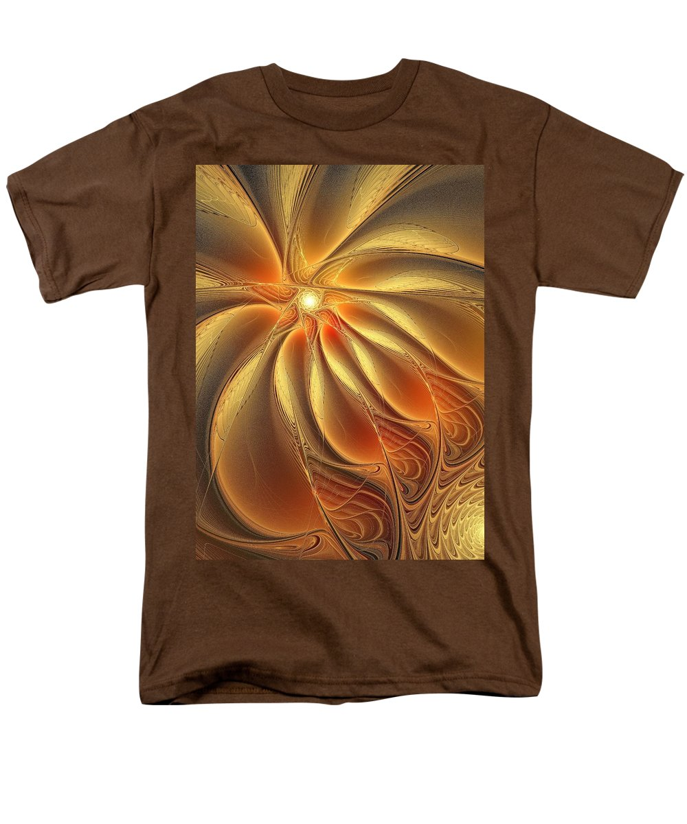 Digital Art Men's T-Shirt (Regular Fit) featuring the digital art Warm Feelings by Amanda Moore