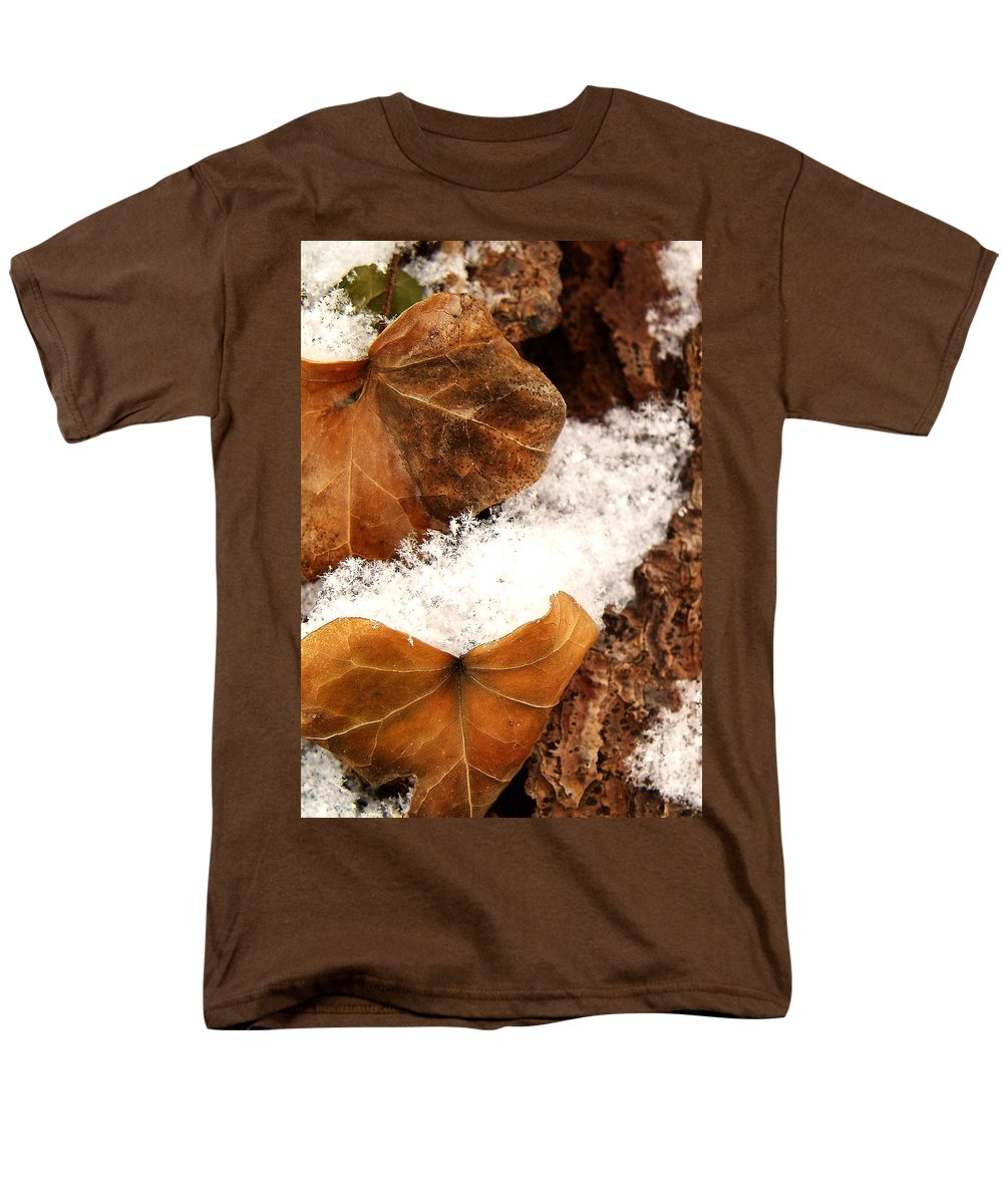 Fall Men's T-Shirt (Regular Fit) featuring the photograph Fall And Winter by Gaby Swanson