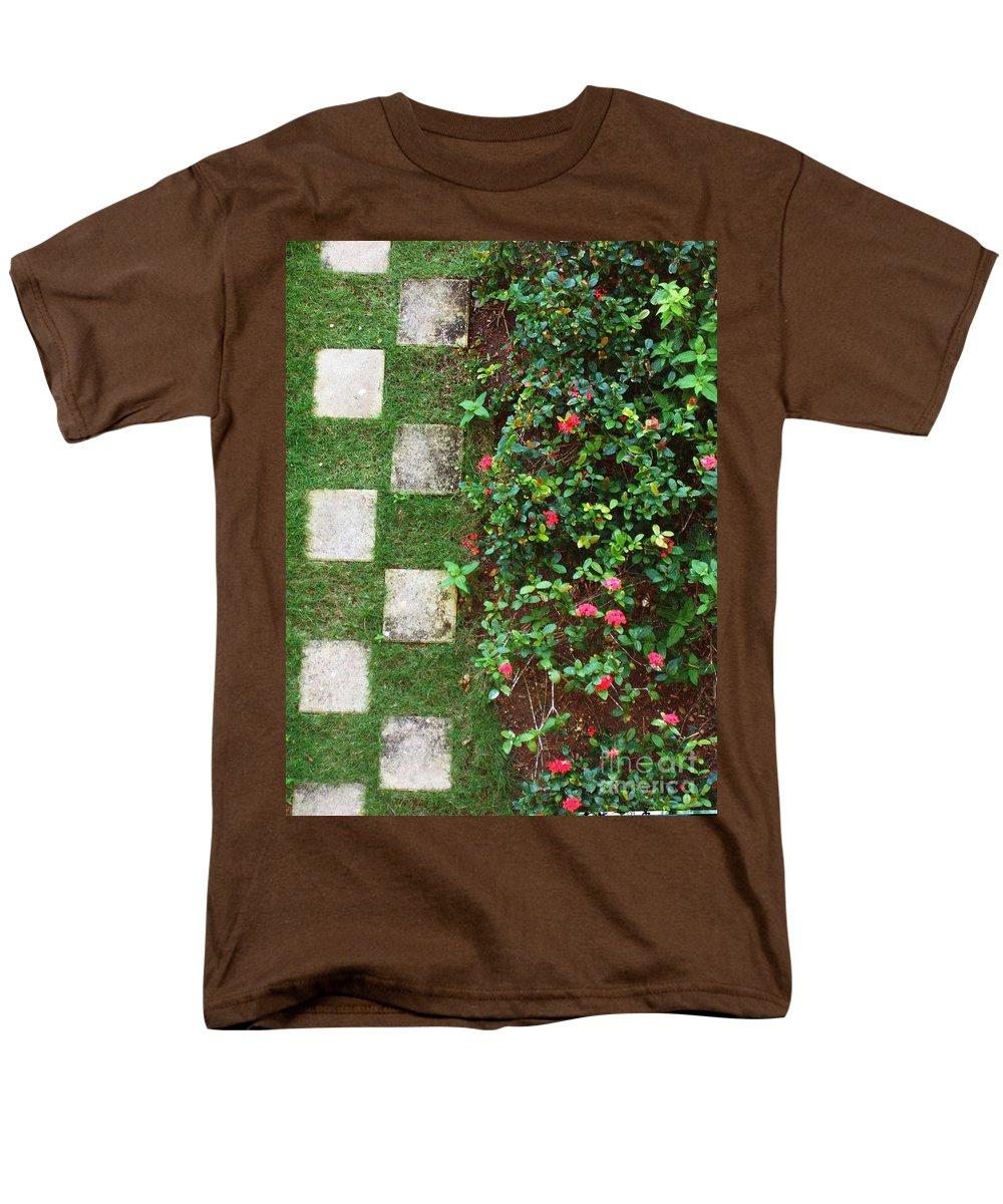 Pattern Men's T-Shirt (Regular Fit) featuring the photograph Pattern Work by Deborah Crew-Johnson