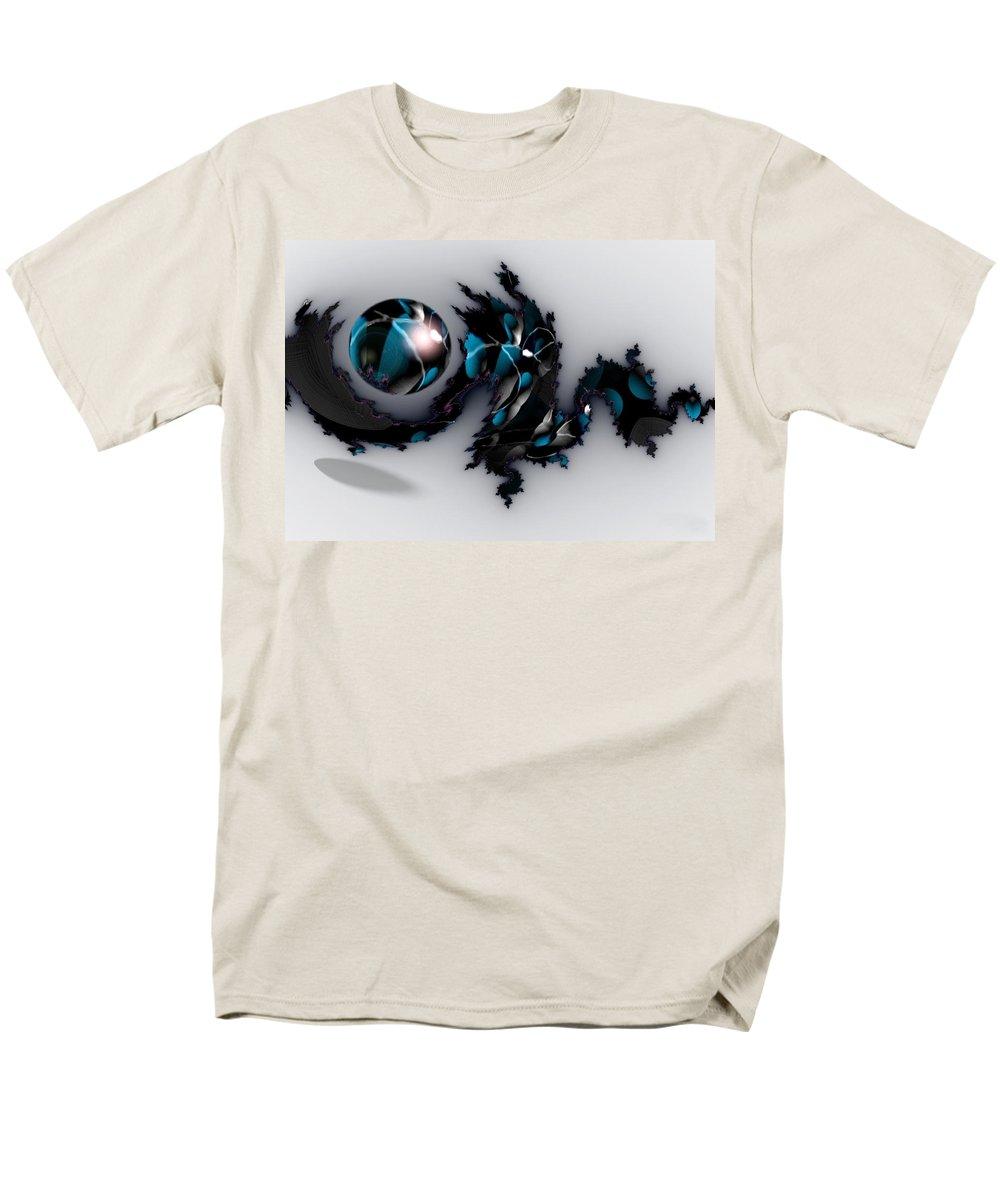 China Dragon Rythm Float Dance Men's T-Shirt (Regular Fit) featuring the digital art China Dragon by Veronica Jackson