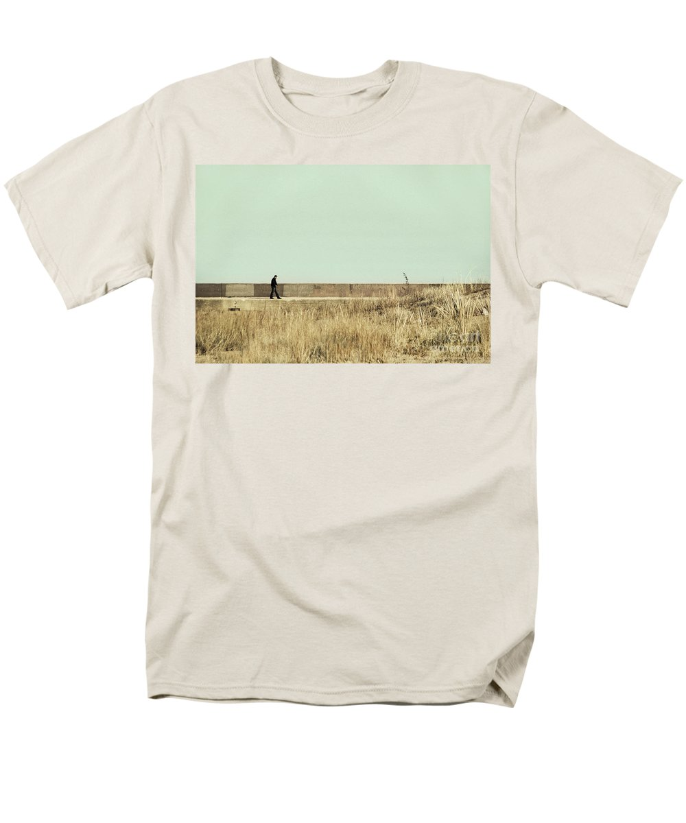 Dipasquale Men's T-Shirt (Regular Fit) featuring the photograph I Remember What We Said by Dana DiPasquale