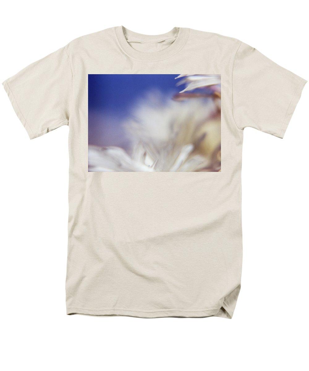 Flower Men's T-Shirt (Regular Fit) featuring the photograph Macro Flower 1 by Lee Santa