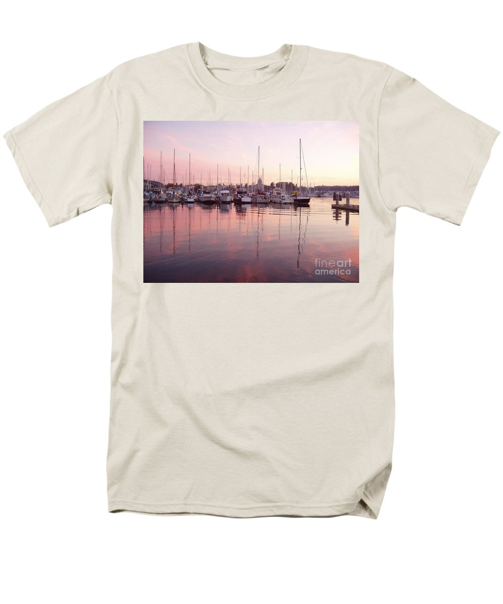 Pastel Men's T-Shirt (Regular Fit) featuring the photograph Pastel Waters by Deborah Crew-Johnson