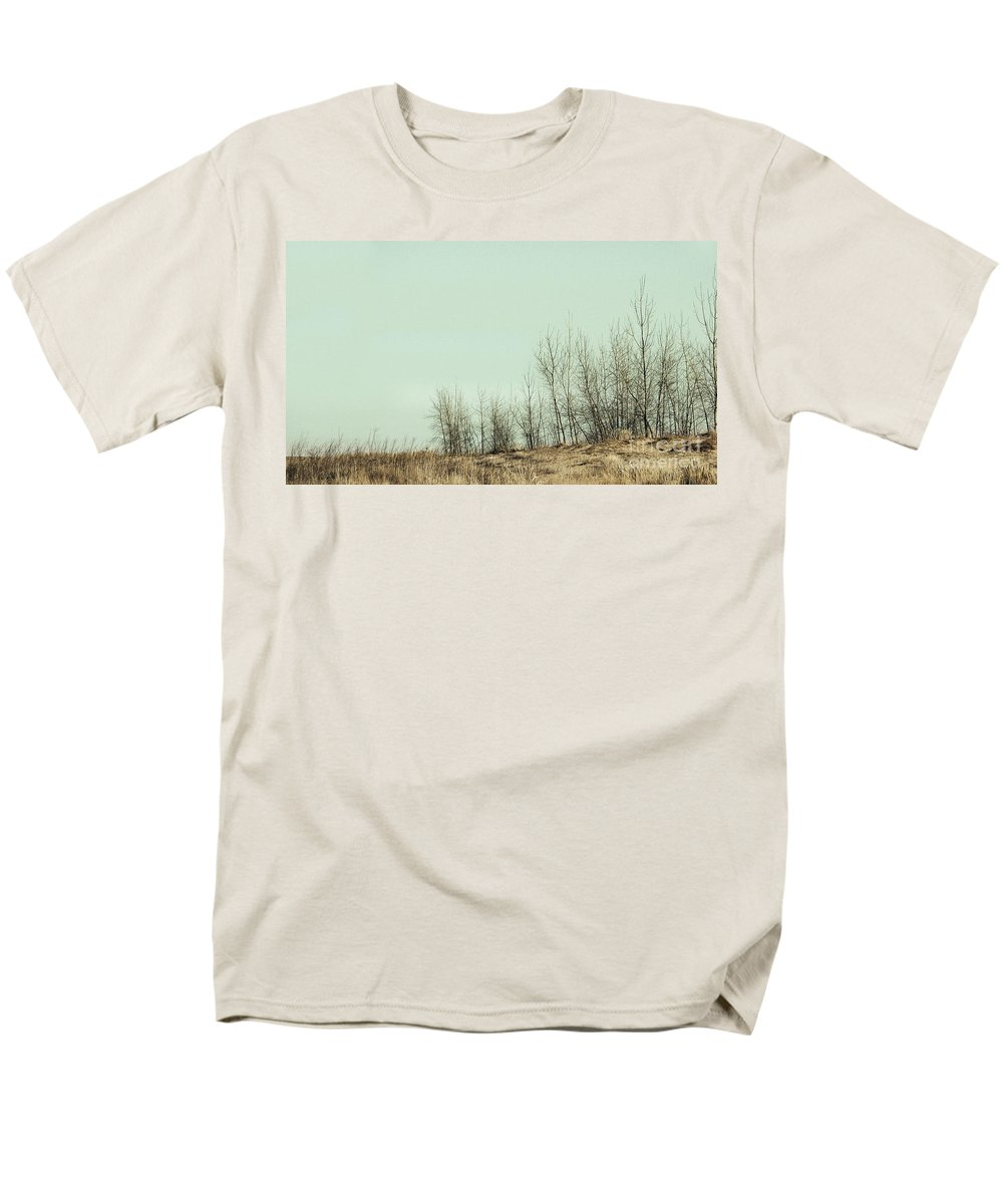 Trees Men's T-Shirt (Regular Fit) featuring the photograph The Things We Should Have Done to End Up Somewhere Else by Dana DiPasquale