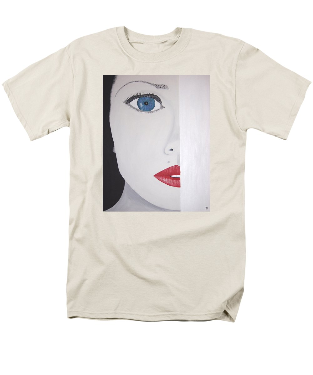 Bright Men's T-Shirt (Regular Fit) featuring the painting Brea by Dean Stephens