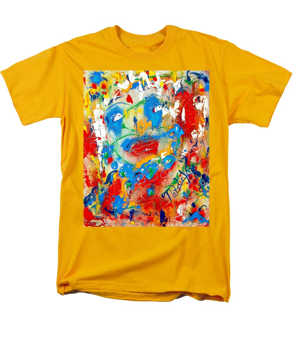 Woman Men's T-Shirt (Regular Fit) featuring the painting Fantasia by Natalie Holland