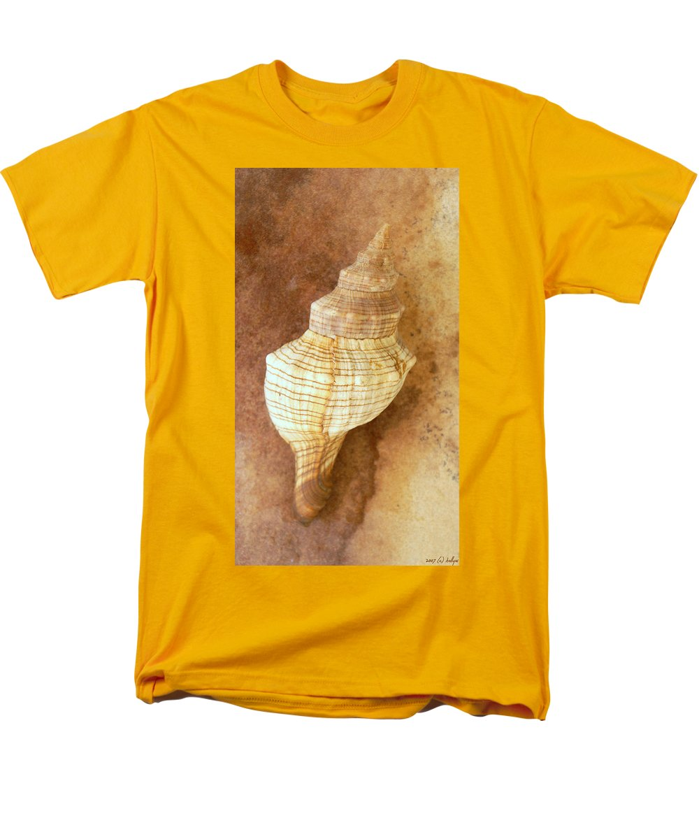 Still Life Men's T-Shirt (Regular Fit) featuring the photograph Sounds of the Sea by Holly Kempe