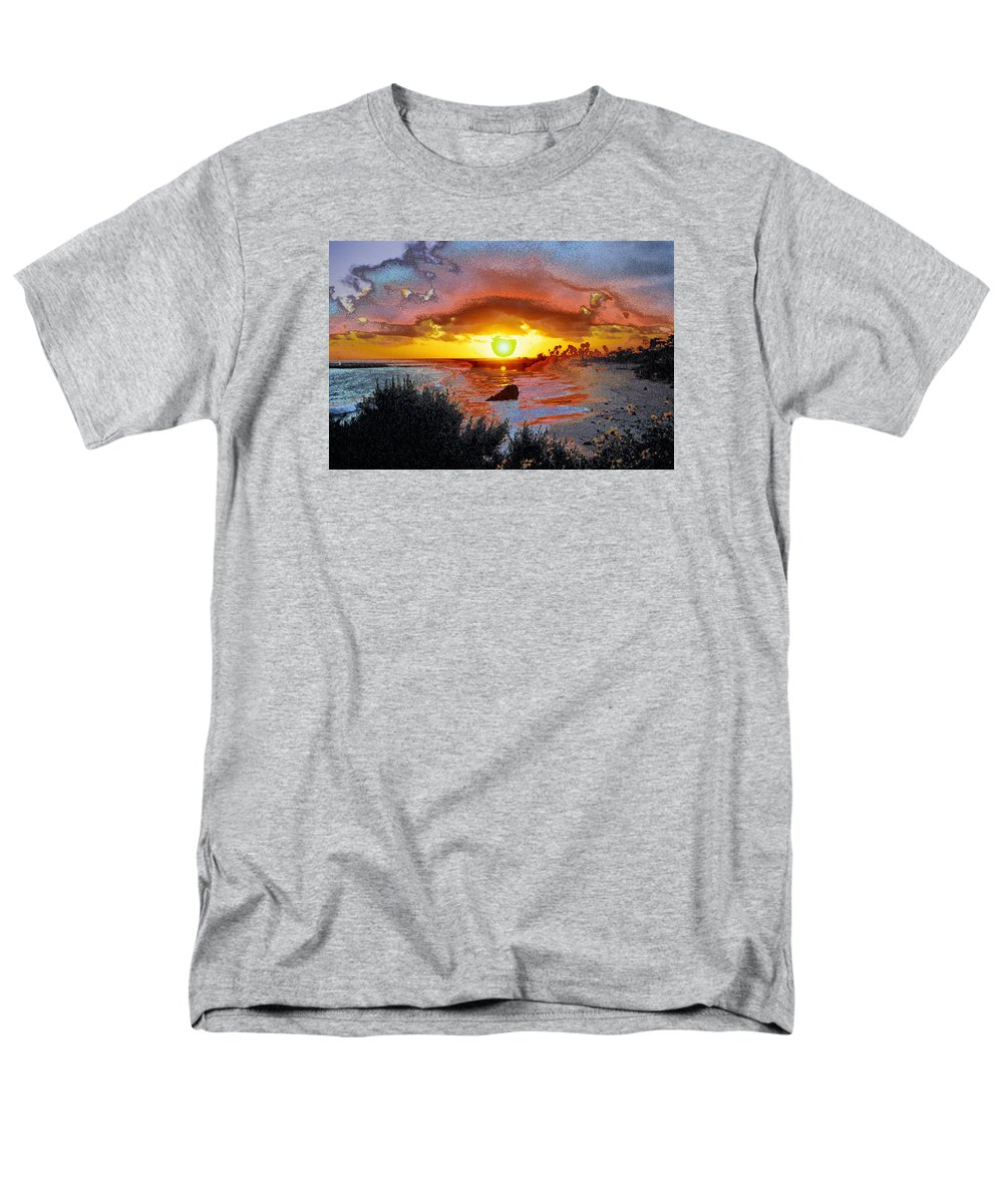 Sun Men's T-Shirt (Regular Fit) featuring the photograph Freedom of Being by Andre Aleksis