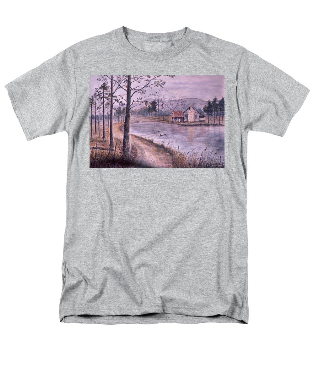 Morning Men's T-Shirt (Regular Fit) featuring the painting South Carolina Morning by Ben Kiger