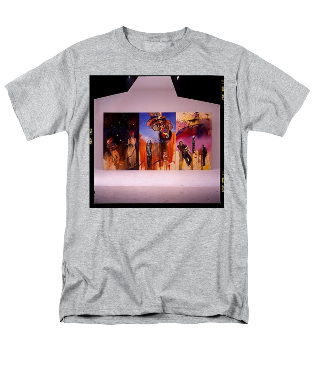 Canvas Men's T-Shirt (Regular Fit) featuring the painting Love Hurts by Charles Stuart