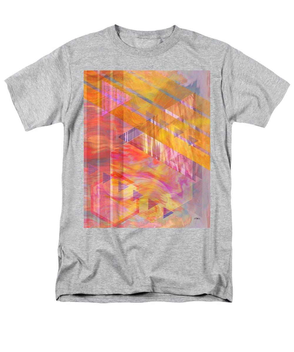 Affordable Art Men's T-Shirt (Regular Fit) featuring the digital art Bright Dawn by John Beck