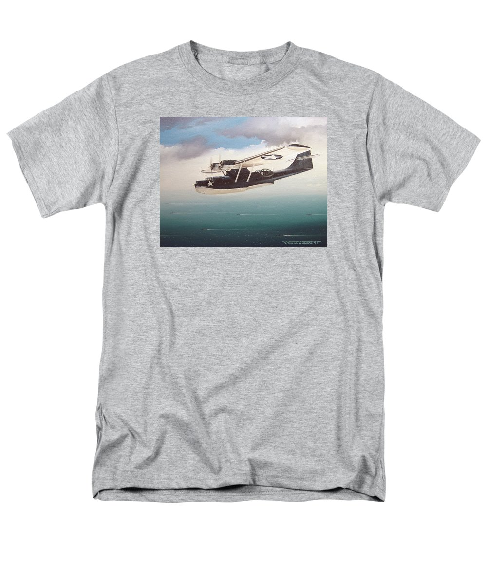 Painting Men's T-Shirt (Regular Fit) featuring the painting The Good Shepherd by Marc Stewart