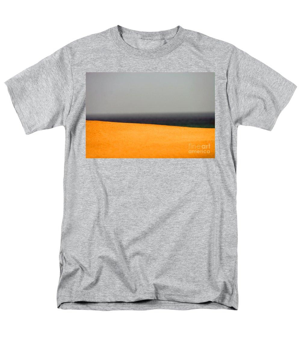 Yellow Men's T-Shirt (Regular Fit) featuring the photograph Yellow Horizon by Hana Shalom