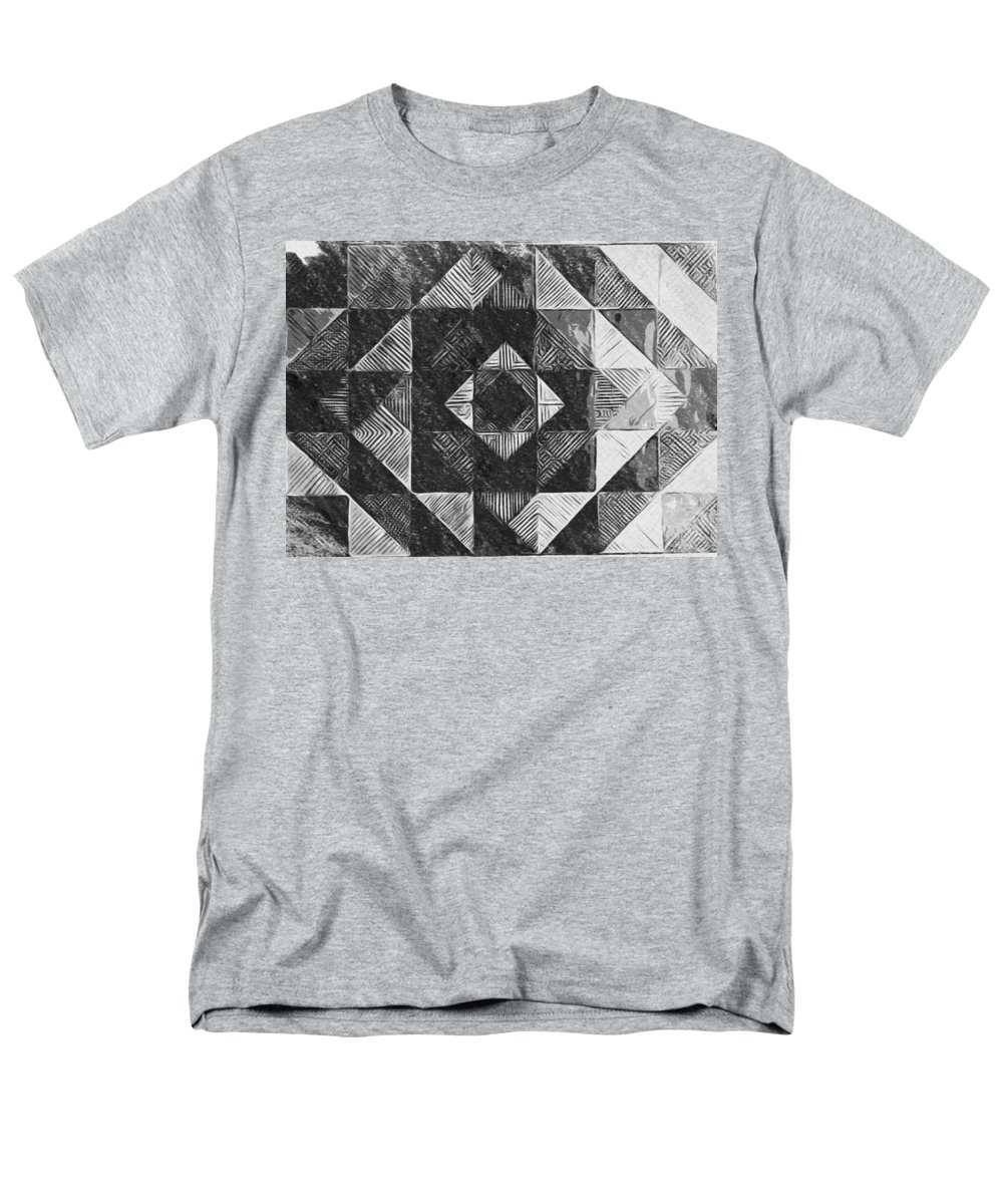 Art Men's T-Shirt (Regular Fit) featuring the digital art Originated From Within by Andrew Johnson