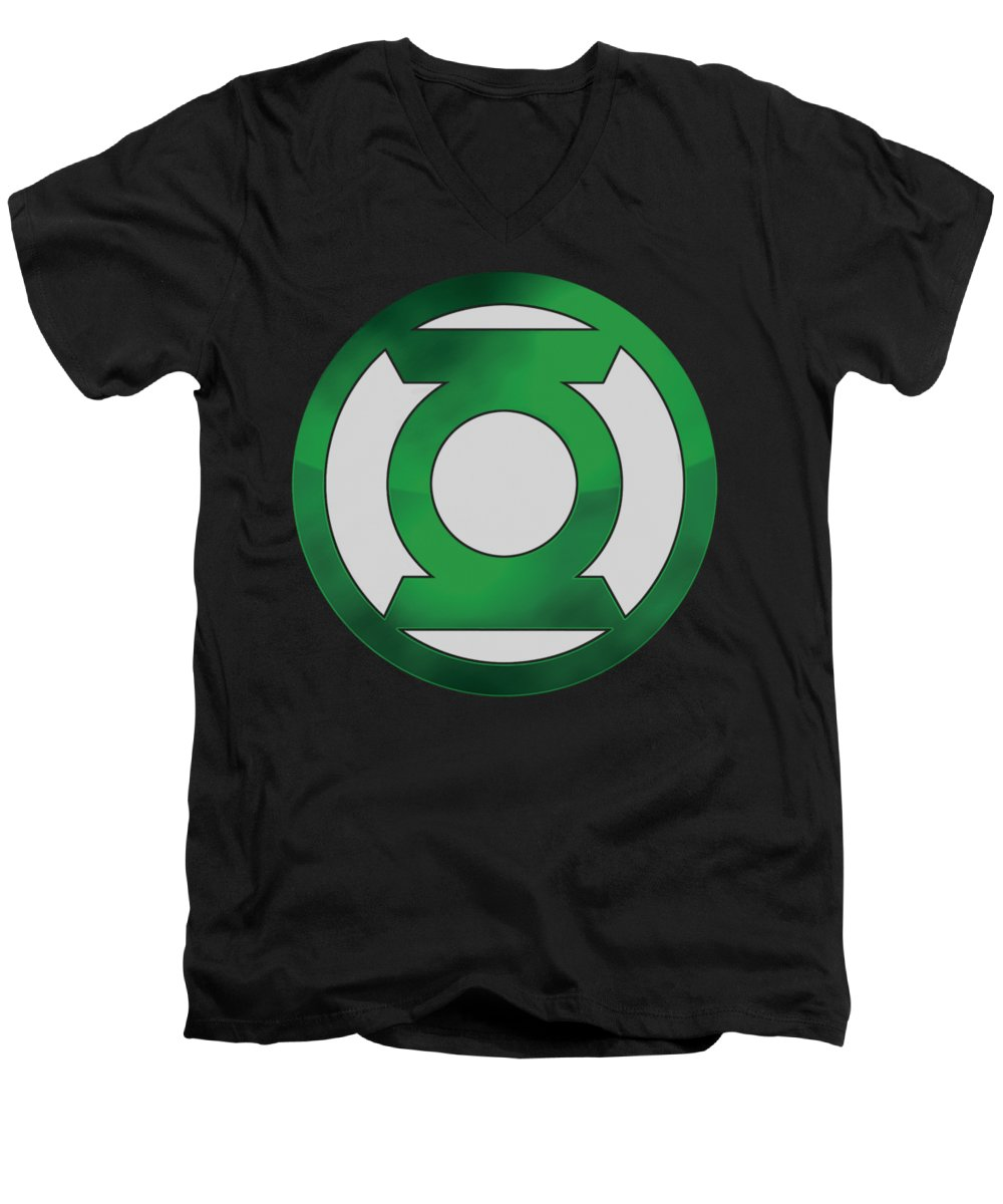 Power Ring V-Neck T-Shirts