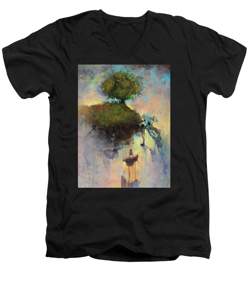 Louvre V-Neck T-Shirts