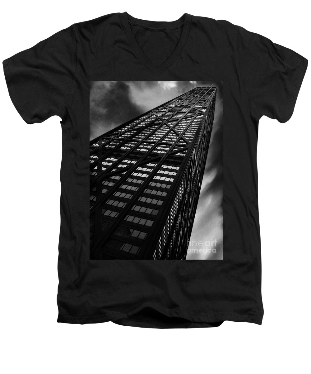 City Men's V-Neck T-Shirt featuring the photograph Limitless by Dana DiPasquale