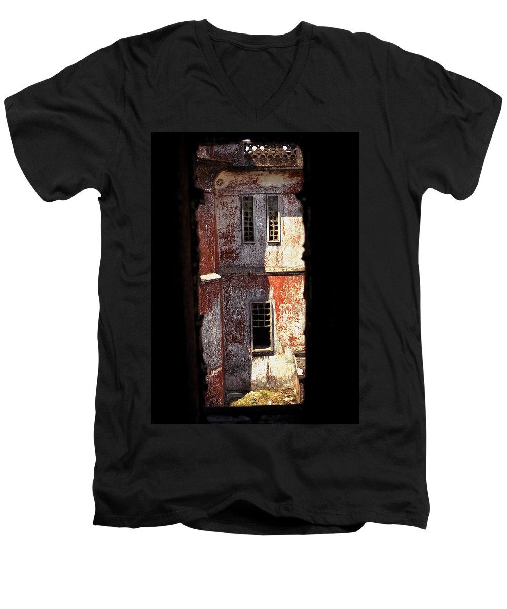 Bokor Men's V-Neck T-Shirt featuring the photograph Bokor by Patrick Klauss