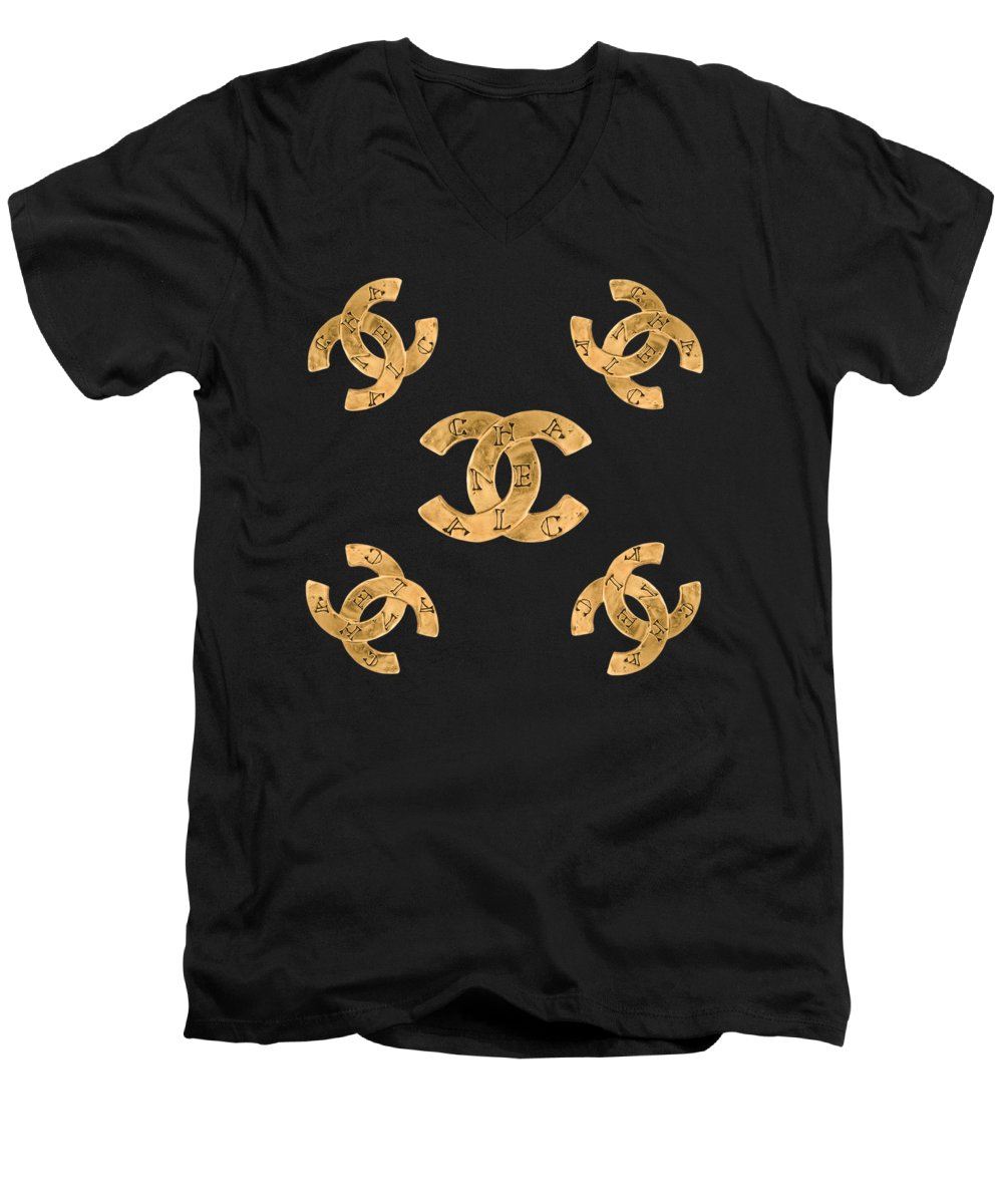 Jewel V-Neck T-Shirts