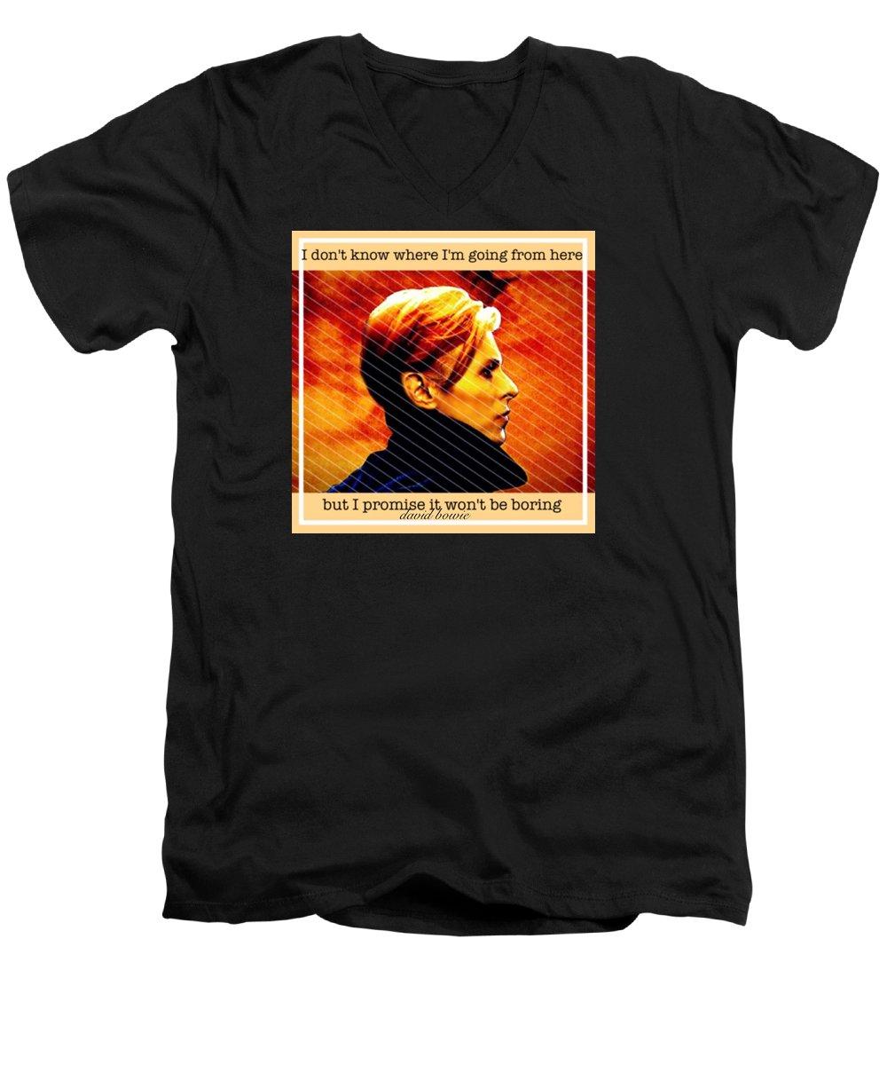 Music V-Neck T-Shirts