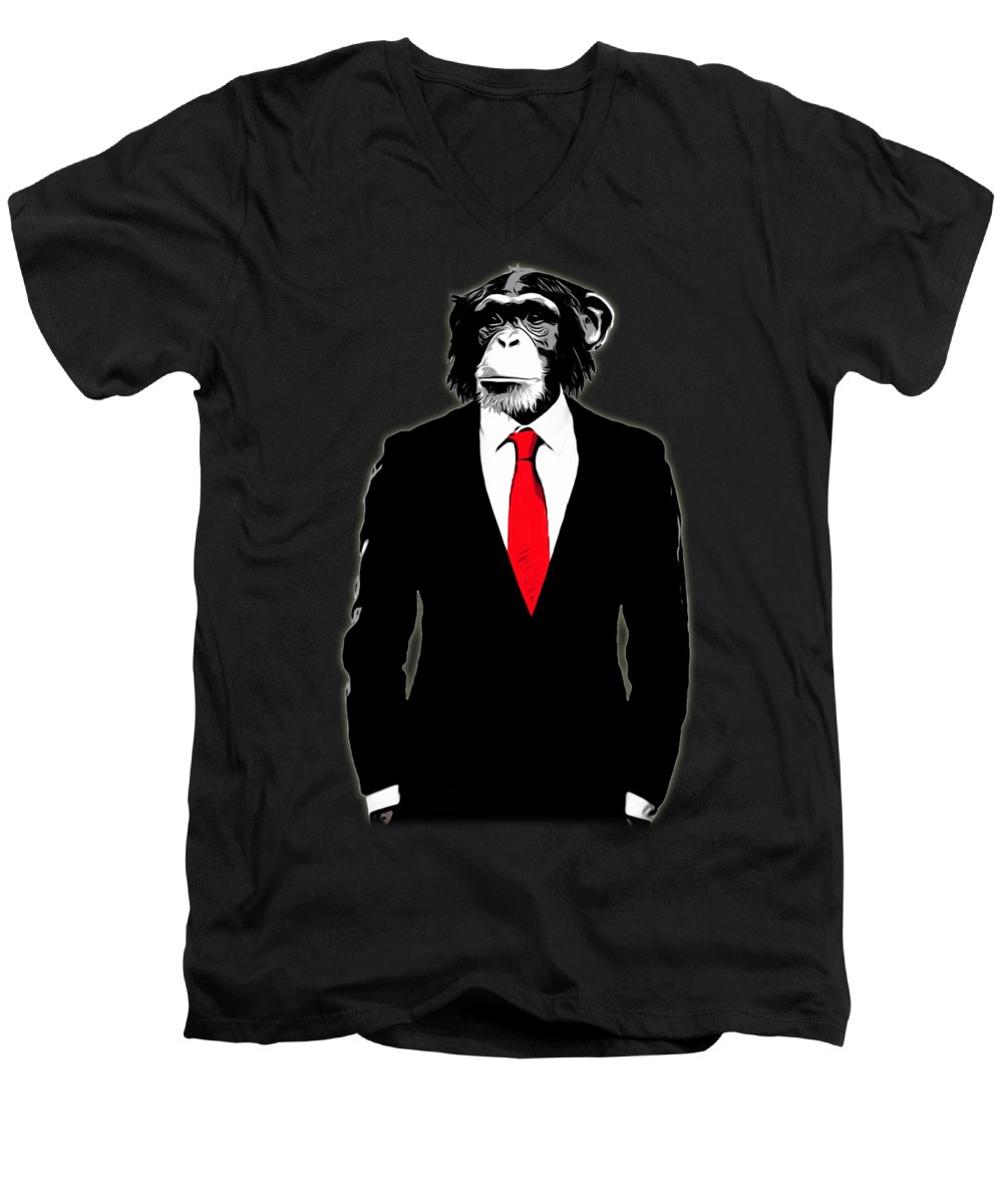 Ape V-Neck T-Shirts