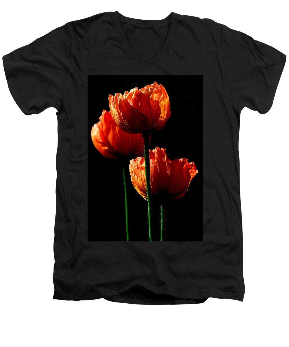 Photograph Men's V-Neck T-Shirt featuring the photograph Elegance by Stephie Butler
