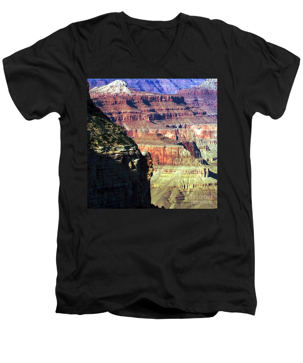Photograph Men's V-Neck T-Shirt featuring the photograph Heritage by Shelley Jones