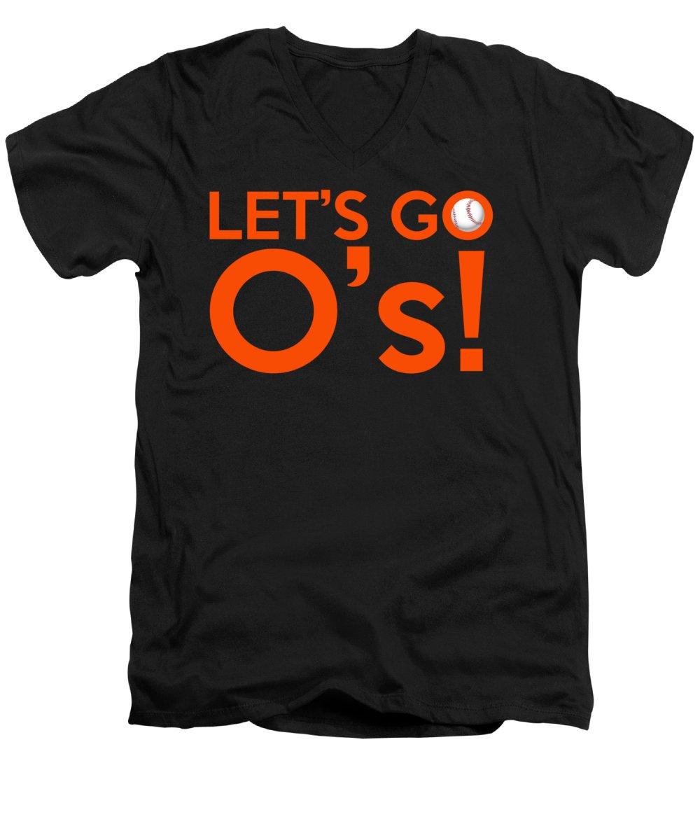 Oriole V-Neck T-Shirts