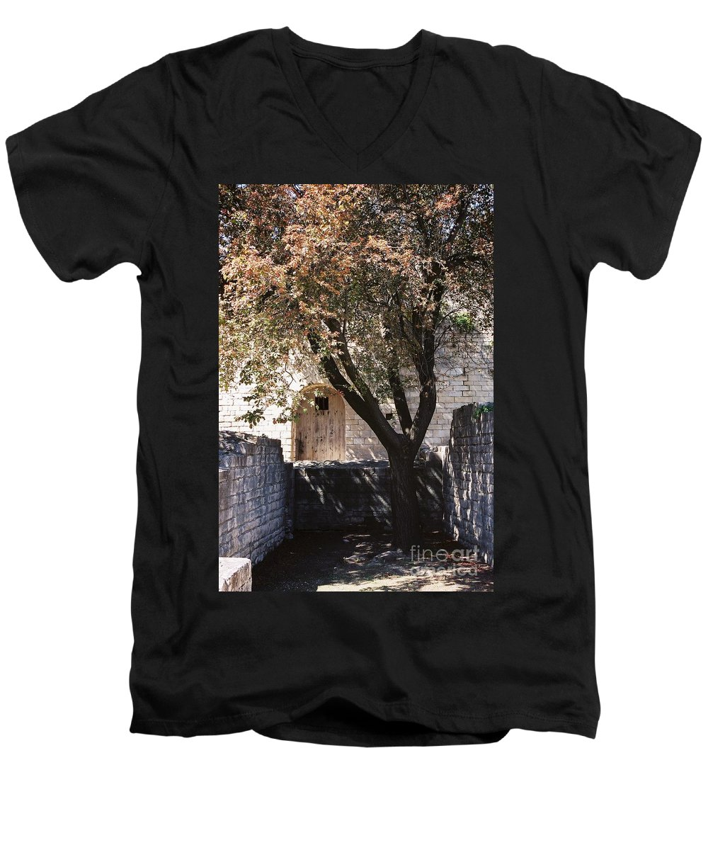 Life Men's V-Neck T-Shirt featuring the photograph Life And Death by Nadine Rippelmeyer