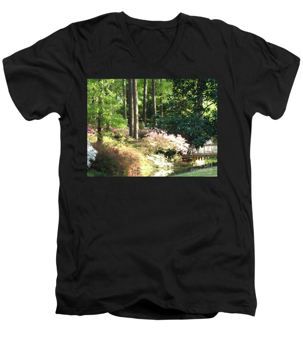 Photography Men's V-Neck T-Shirt featuring the photograph Nature by Shelley Jones