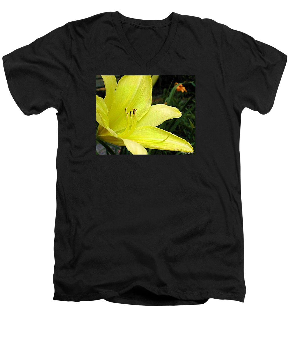 Fine Art Photography Men's V-Neck T-Shirt featuring the photograph Pure Sunshine by Patricia Griffin Brett