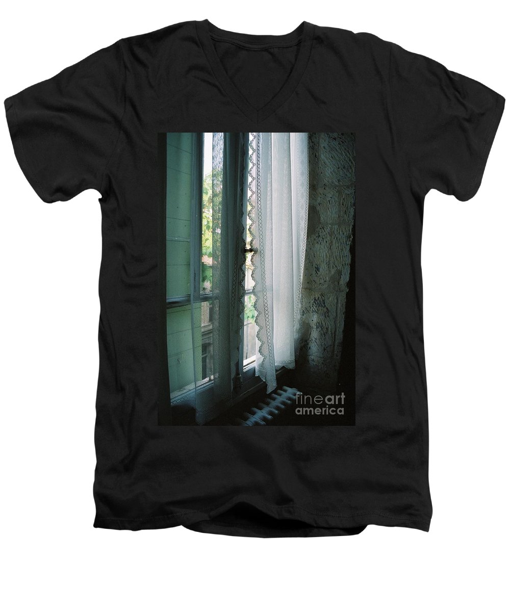 Arles Men's V-Neck T-Shirt featuring the photograph Rest by Nadine Rippelmeyer
