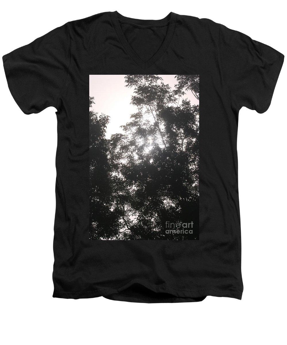 Light Men's V-Neck T-Shirt featuring the photograph Soft Light by Nadine Rippelmeyer