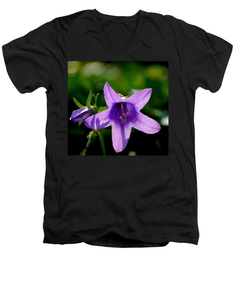 Digital Photography Men's V-Neck T-Shirt featuring the digital art Translucent by David Lane