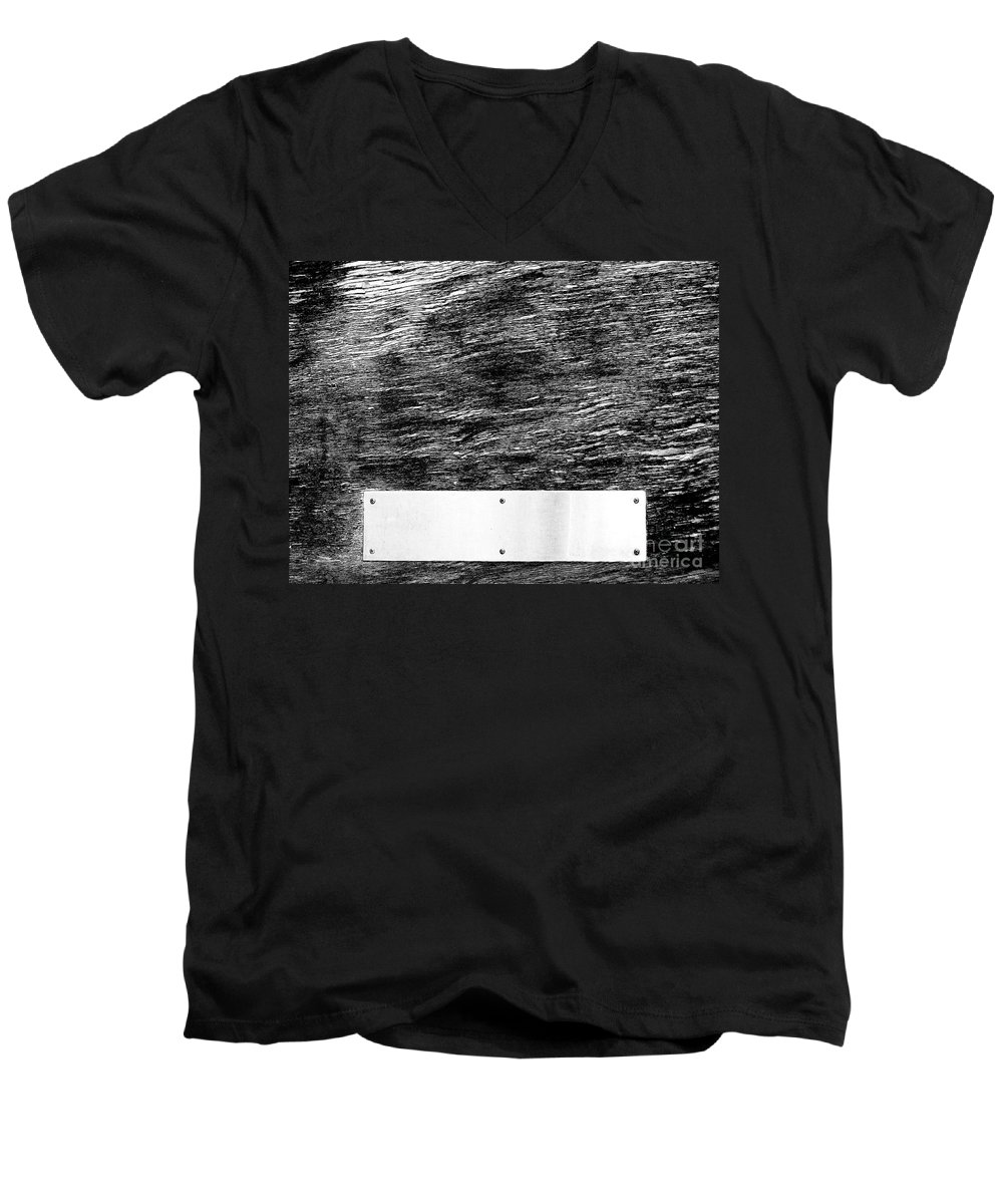 Dipasquale Men's V-Neck T-Shirt featuring the photograph Weathered by Dana DiPasquale