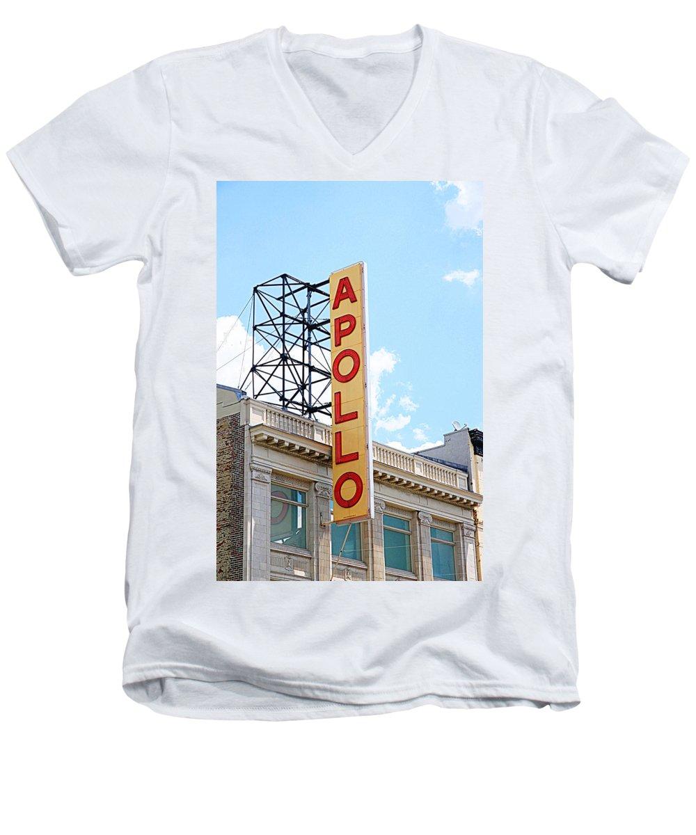 Apollo Theater V-Neck T-Shirts
