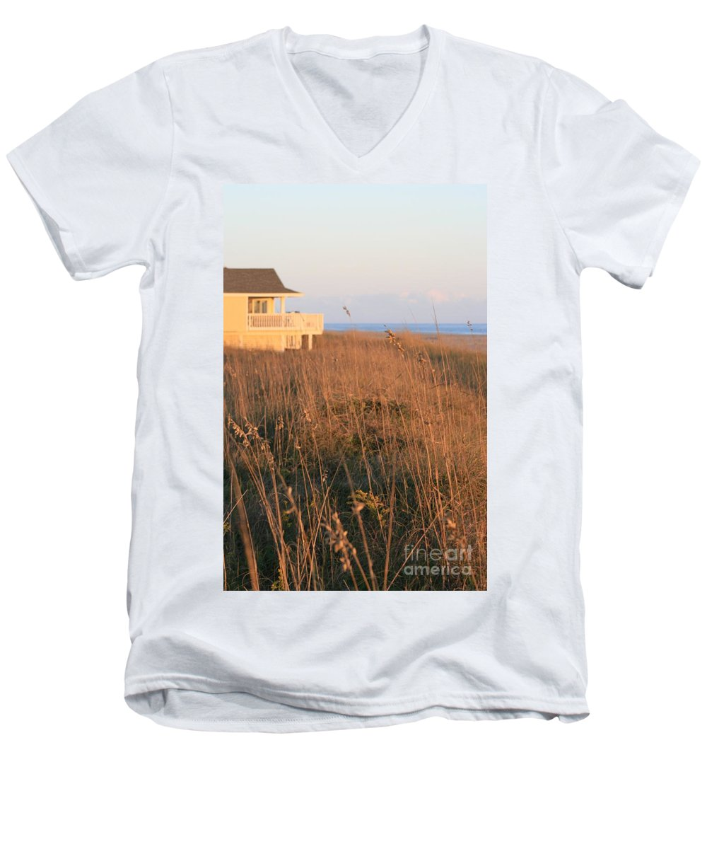Relaxation Men's V-Neck T-Shirt featuring the photograph Relaxation by Nadine Rippelmeyer