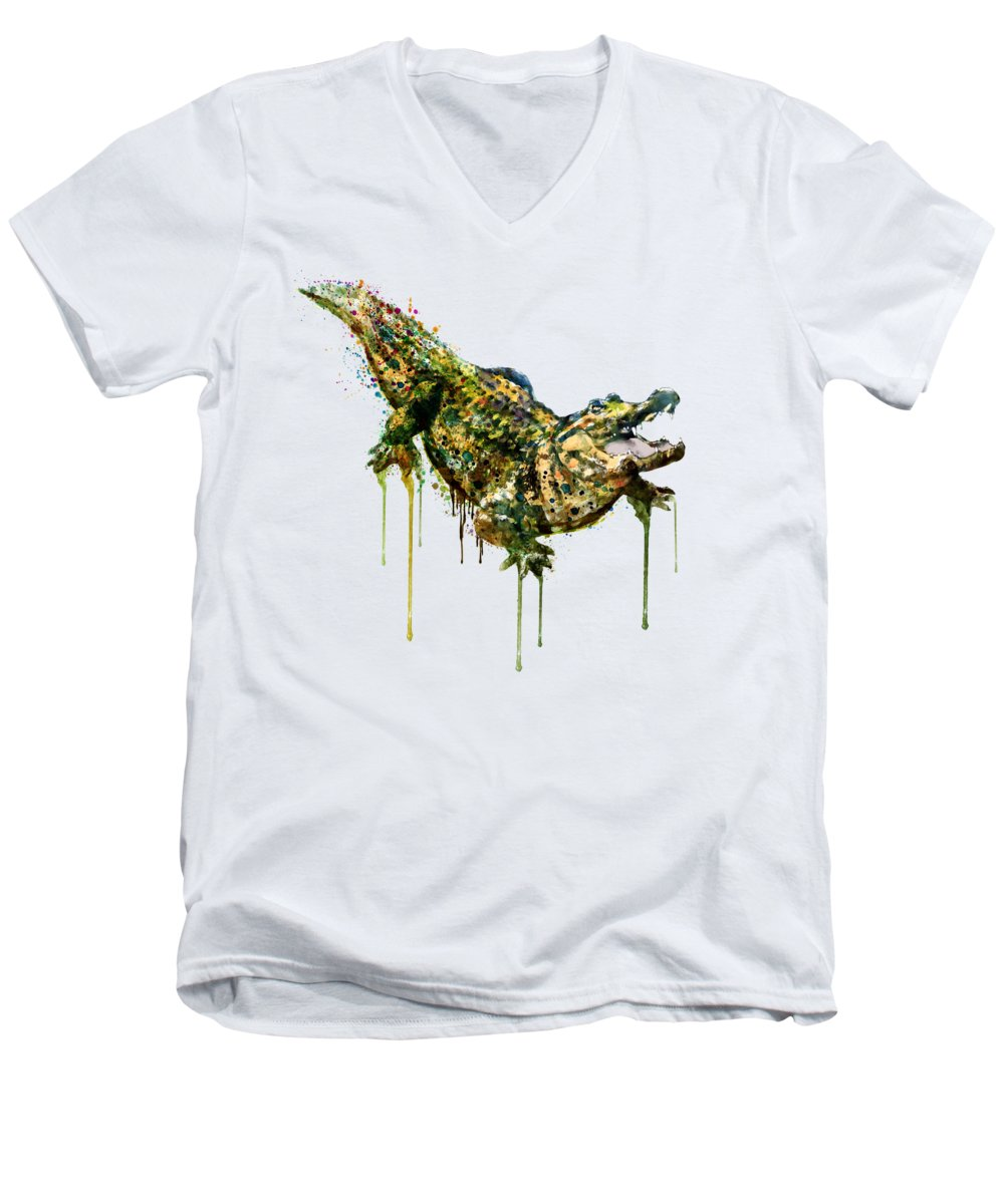 Alligator V-Neck T-Shirts