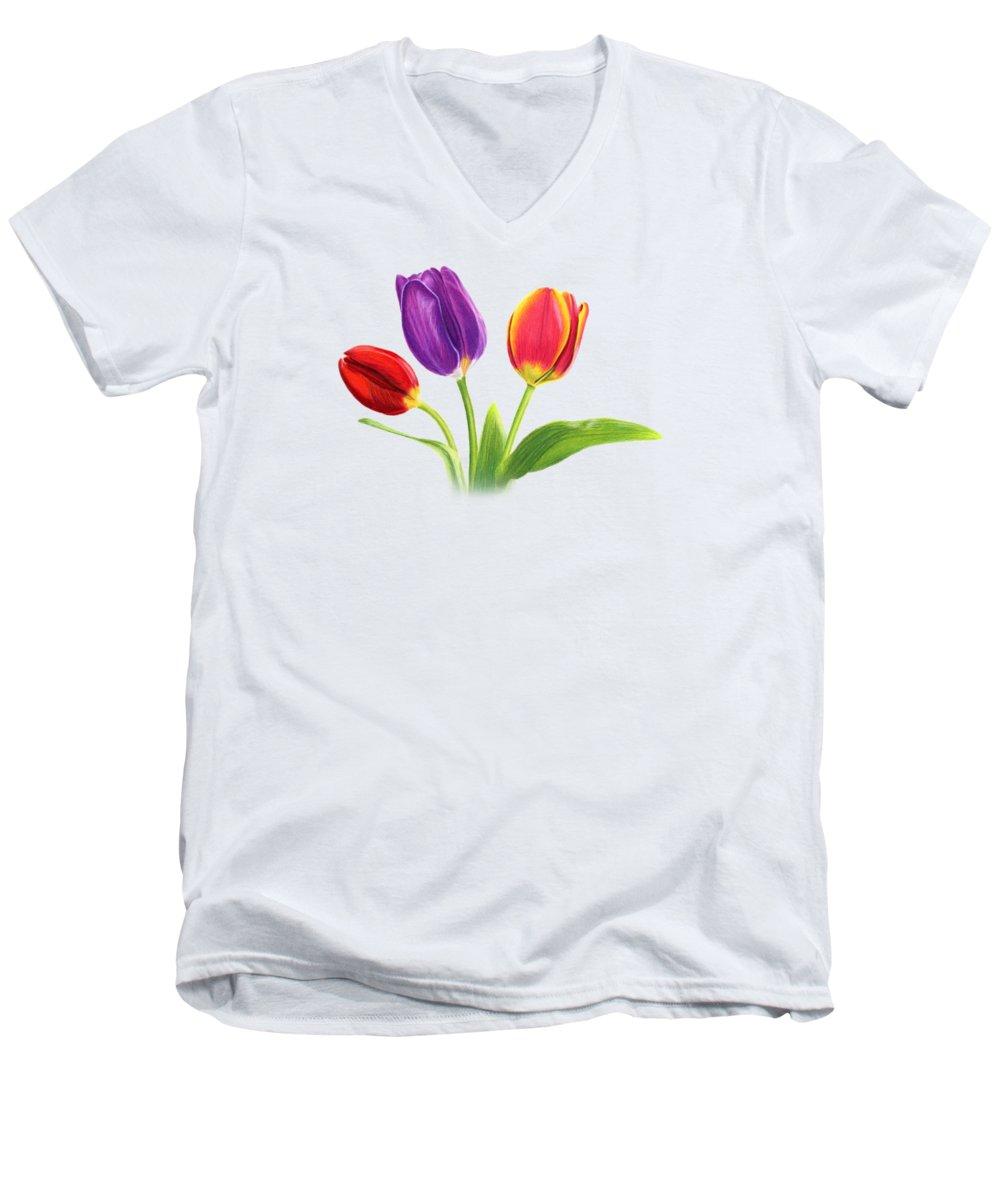 Tulip V-Neck T-Shirts