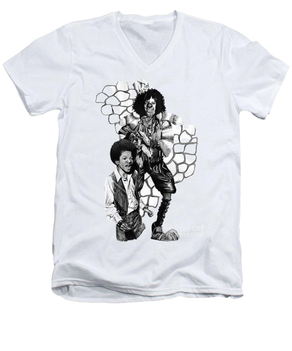 Michael Jackson V-Neck T-Shirts