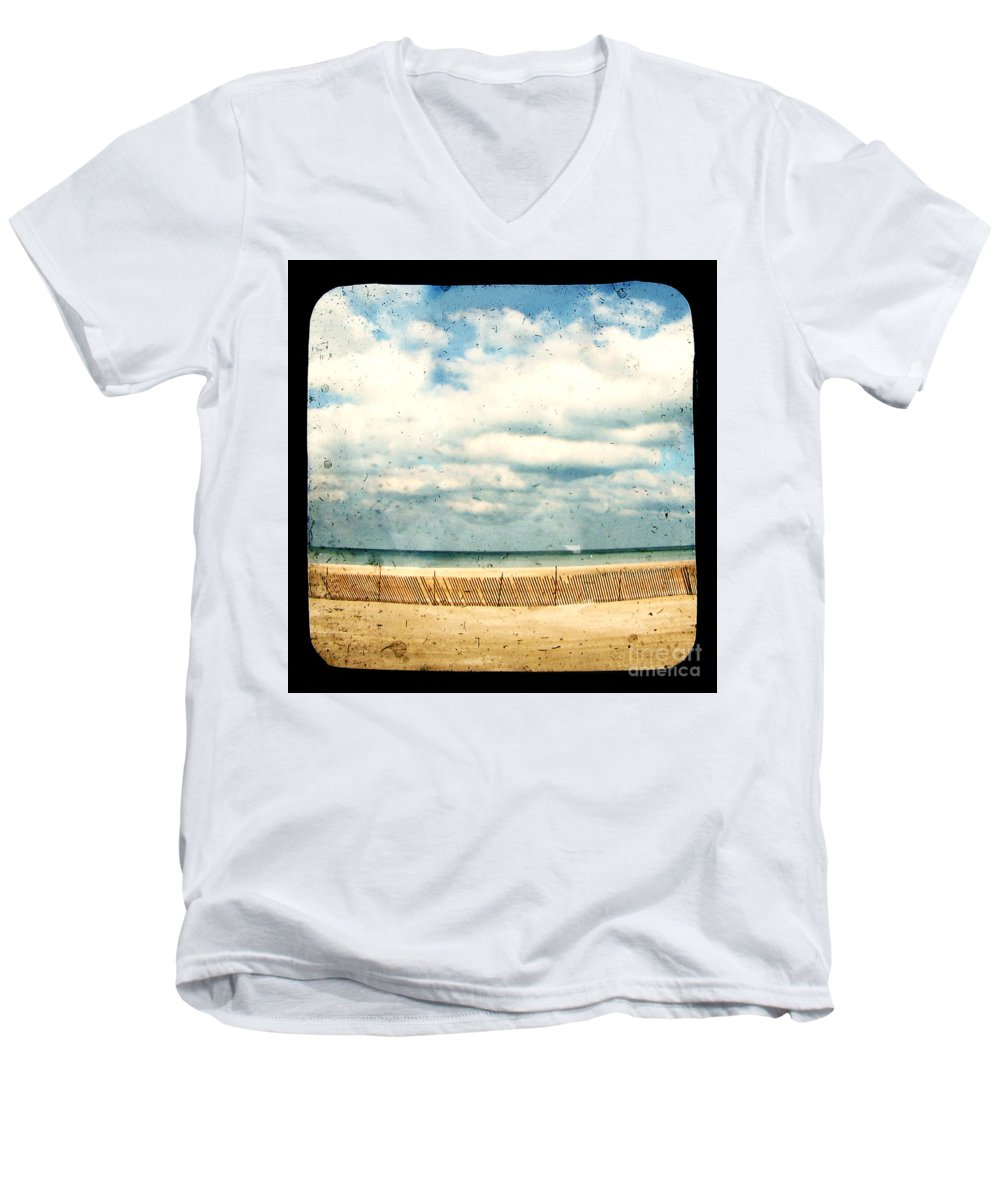 Ocea Men's V-Neck T-Shirt featuring the photograph At Rest by Dana DiPasquale