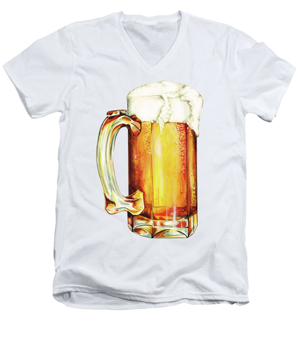 Beer V-Neck T-Shirts