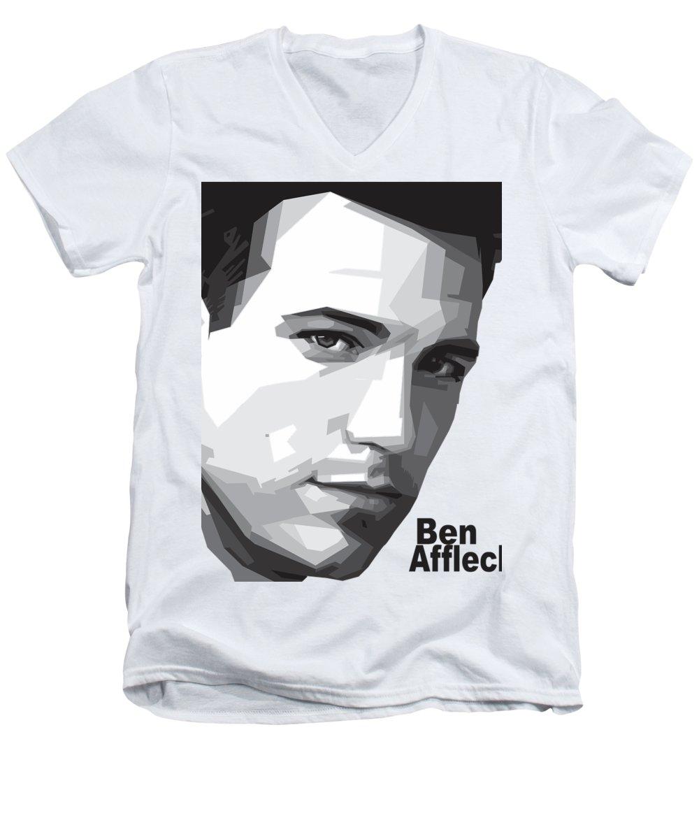 Ben Affleck V-Neck T-Shirts