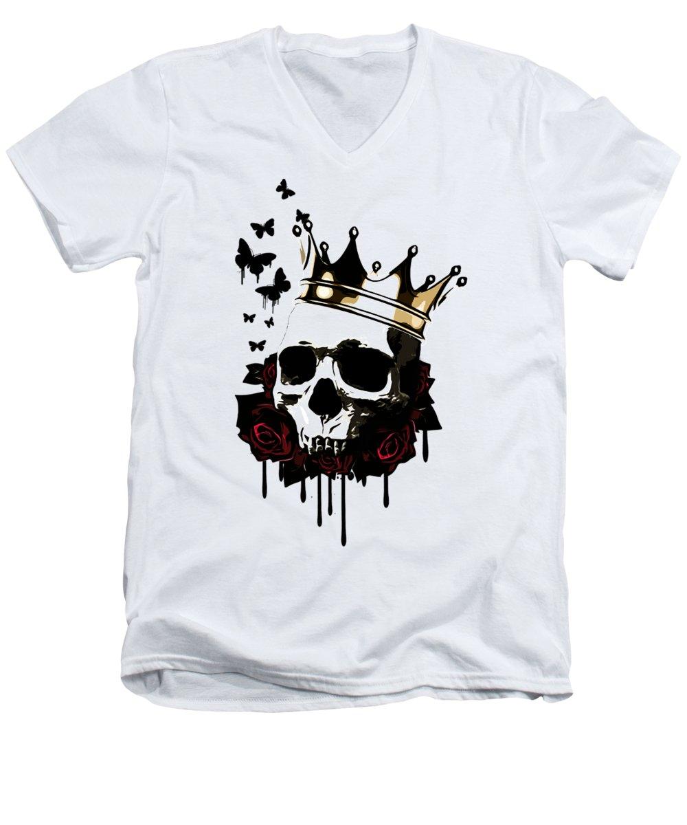 Butterfly V-Neck T-Shirts