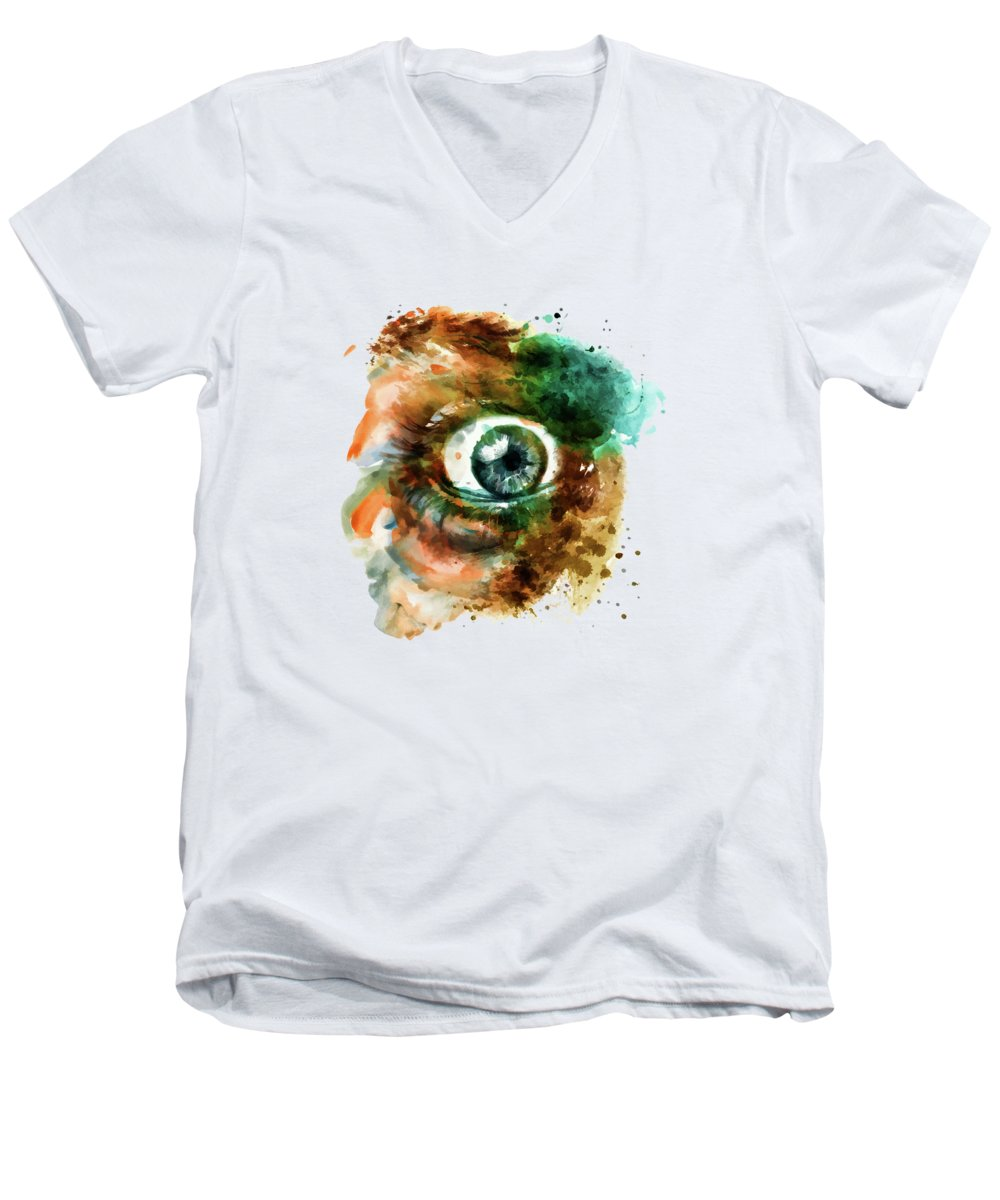 Irises V-Neck T-Shirts