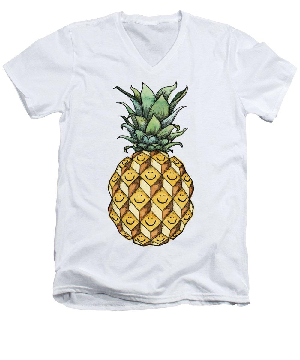Fruit V-Neck T-Shirts