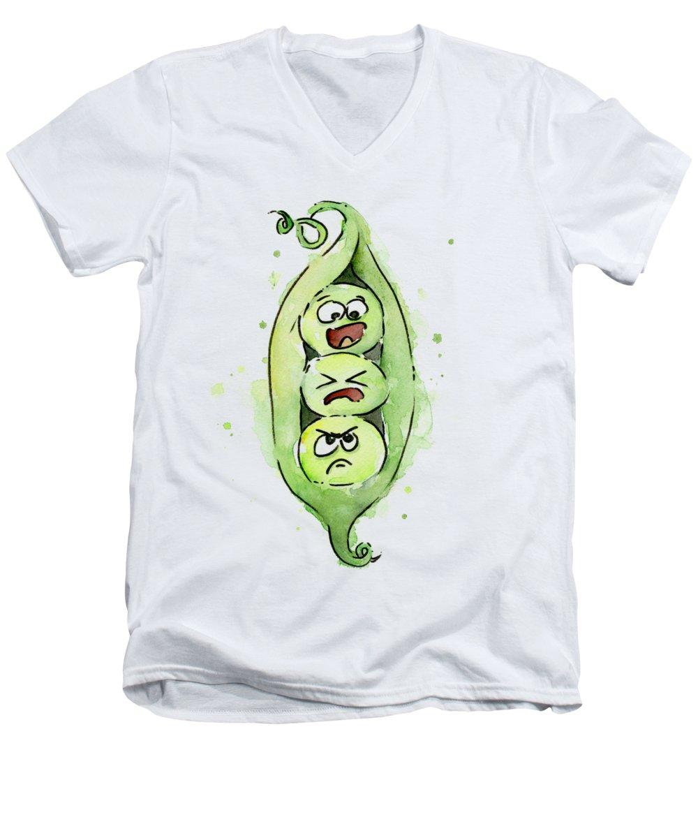 Vegetable V-Neck T-Shirts